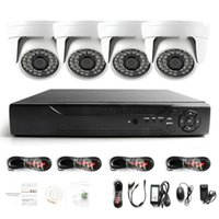 Wholesale indoor day night camera resale online - Holanvision Surveillance HDMI CH AHD P DVR HD Day Night IR Waterproof indoor Camera CCTV Home Security Systems