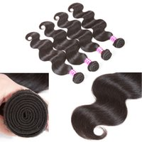 peruvian remy saç paketi toptan satış-8A Brezilyalı Düz Virgin İnsan Saç Paketler 3 Demetleri ile 4x4 Üst Dantel Kapatma Örgü Remy Perulu Moğol Uzantıları
