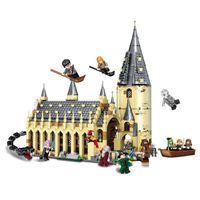 ingrosso set di giocattoli-926 pz Harry Movie Potter Set 16052 Compatibile Con Corredi di Costruzione di Modello Castle Hall Blocchi Giocattoli 75954 Jp39144 J190722