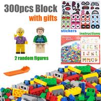 Wholesale building brick block houses toys for sale - Group buy 300pcs Classic Building Block Set Technic City Creator House DIY Creative Brick Designer Part Bulk Pack Construction Model Educational Toy