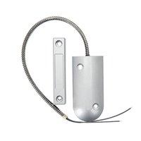 alarmas de puerta de contacto magnético al por mayor-Sensor de puerta magnética Seguridad para el hogar Contacto Sistema de alarma Accesorios Interruptor para puerta corredera Dispositivo de seguridad Puerta cortafuego flexible manguera metálica