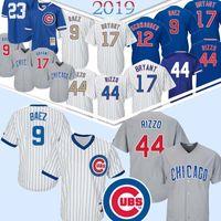 Wholesale kyle schwarber jerseys resale online - Chicago Anthony Rizzo Cubs Javier Baez Kyle Schwarber Kris Bryant th Patch Baseball Jerseys Jake Heyward Top