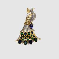 ingrosso j animali-Amorita Boutique Design Animal Peacock Brooches J 190513