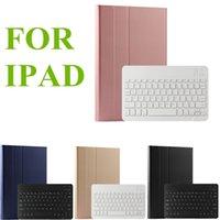 teclados china venda por atacado-Para 2019 shell teclado Apple Ipad caso protetor sem fio Bluetooth Ultra Fino e Capa de Couro Luz para Ipad