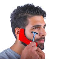 ingrosso strumenti per il sesso-2019 Nuovo pettine Barba Shaping Tool Sex Man Gentleman Barba Trimmer Template Capelli tagliati capelli stampaggio barba