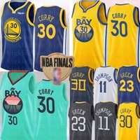 ingrosso klay thompson-2020 Stephen Curry 30 Jersey NCAA Università Draymond 23 Green D'Angelo 1 Russell Klay Thompson 11 Basketball Maglie