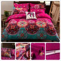 Wholesale king size single beds resale online - Europe Size King Queen Twin Double Single Duvet Cover Pillowcase Bedding Set m m m Bedsheet US Bed Linens UK JP