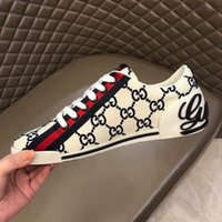 Wholesale quick drying shoes men for sale - Group buy Luxury Designer Rockrunner sneakers leather Men Women casual shoes Sneakers Footwear Women Flats Dress Shoe Sports Tennis Printing R380