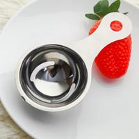 Stainless Steel Eggs Yolk Filter Separating Funnel Spoon Egg Divider Tool Egg White Separator Tools yq00239