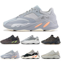 Wholesale soccer shoes red for sale - 2019 New Inertia Salt Geode Wave Runner Running Shoes Mauve Solid Grey Static Mens Women Outdoors Athletic Sports Sneakers