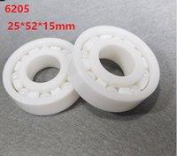6202 15x35x11 mm ZrO2 Full Ceramic Zirconia Oxide Ball Bearing 2 PCS