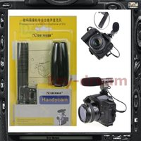 Wholesale dslr pro resale online - SG SG108 Directional Pro Stereo Microphone mm For Video DSLR Camera Camcorder DV D3S D300S D7000 D5100 GH2