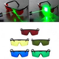 51c119076e Gafas de seguridad láser 4 colores Gafas para soldar Gafas de sol  Protección para los ojos Soldador de trabajo Gafas de seguridad ajustables  OOA6082
