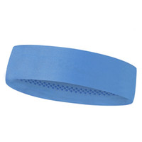 ingrosso fascia bianca della fascia-Outdoor Solid Sport Silicone antiscivolo Fascia elastica Fascia orsetto Calcio Tennis Foulard Unisex Running Hair Band # 495984