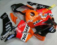 fábrica de carenados al por mayor-Factory Road Fairing Kit para Honda CBR600RR F5 2003 2004 CBR 600 RR 03 04 Sport Motorbike ABS Fairings Set (moldeo por inyección)