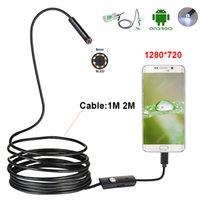 Wholesale android laptop camera for sale - Group buy 2 in Endoscope Camera mm M M M LED Waterproof Borescope Inspection Camera For PC Laptop Android