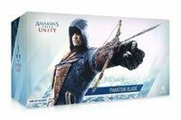 bıçak figürü toptan satış-Assassins Creed Birlik Phantom Bıçak Lame Fantome Anime Action Figure YAY Gauntlet 35 Cm
