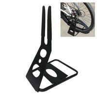 bisiklet rafı aksesuarları toptan satış-Bisiklet Zemin Park Standı Tutucu Bisiklet Üçgen Arka Hub Depolama Raf Park Rafları Bisiklet Aksesuarları Tutun