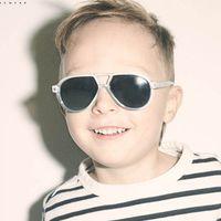 ingrosso occhiali da sole per bambini-HJYBBSN Small Frame Fashion Pilot Occhiali da sole per bambini Simpatici ragazzi Occhiali da sole progettati per bambini Oculos De Sol Occhiali di sicurezza UV400