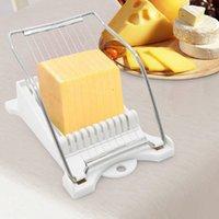presunto venda por atacado-Eco-Friendly X carne do almoço cortador de queijo Ovo Cozido Ham cortador Fruit Slicer BPA 180 graus Rotatio
