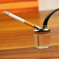 shisha filtreleri toptan satış-Mini Nargile Mini Sigara Boru Küçük Shisha Moda Sigara Tutucu Borular Tarzı Sigara Boru Filtre ağızlık