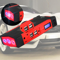 Wholesale emergency car jump start for sale - Group buy 82800mAh USB Car Jump Starter Multifunction Emergency Charger Battery Power Bank Pack V Starting Device Waterproof