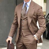 Costume marron homme Achat Vente Costume marron Homme