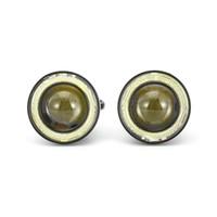 gündüz çalışan hafif bmw toptan satış-Bir Çift / Set 64mm / 76mm / 89mm 30 W LED COB Melek Gözler Gündüz farı 2000LM Araba Araç Evrensel Sis L Sis Lambası Evrensel Araba-styling Için