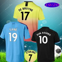 Wholesale g jesus for sale - Group buy Top sane soccer Jerseys City G JESUS DZEKO KUN AGUERO KOMPANY TOURE YAYA DE BRUYNE Shirt football uniforms