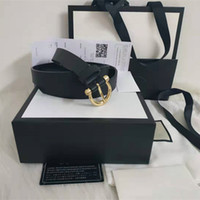 weißer gürtel frei groihandel-Männer / Frauen Gürtel Frauen hohe Qualität echtes Leder-schwarze und weiße Farbe Designer Kuhfell Gürtel für Männer Luxus Gurt-freies Verschiffen