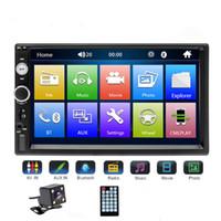 evrensel panel toptan satış-Evrensel 2 din Araba Multimedya Oynatıcı Autoradio 2din Stereo 7