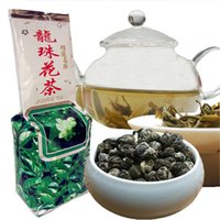 Wholesale dragon pearls tea for sale - Group buy Premium Jasmine Pearl Flower Tea g Chinese Organic Jasmine Dragon Ball Scented Tea Green Food Delicious Green Tea