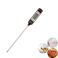 Wholesale digital cooking thermometers resale online - Kitchen Electronic Cooking Tools Probe BBQ Meat Thermometer Digital Cooking Tool