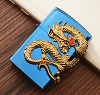 Wholesale dragon electronics for sale - Group buy Newest Beautiful Dragon Metal USB Double Arc Rechargeable Electronic Lighter Cigarette Turbo Smoking Cigar Windproof Lighter