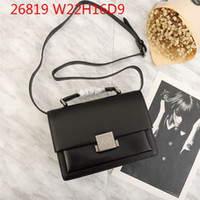 Wholesale briefcase compartments resale online - Designer Crossbody bags Women fashional Briefcases cow leather hard shell vintaged Luxury hardware super value bags
