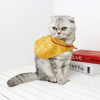 Wholesale chinese new year accessories resale online - Pet Dog Cat New Year Cloak Traditional Chinese Garments Scarf For Winter New Year Costume Dress Festival Dog Accessories ZL