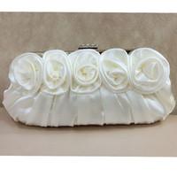exquisite damen handtaschen groihandel-Frauen Handtaschen Perlen Abend Exquisite Damen Perlen Gestickte Hochzeit Braut Handtasche Wristlet bolsos Kleine WY183 # 564449