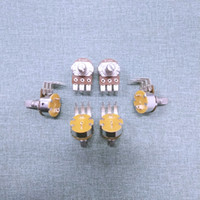 potentiomètre ohm achat en gros de-5pcs / Lot WTH148 POTENTIOMETRE Switch et 15mm arbre Résistance 5K 10K 50K 100K 500K Ohm