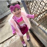 niños de tiaras al por mayor-Banda de pelo ancho para niños Bebé Tiara suave Decoración para el cabello Little Boy Girl Color sólido simple 4