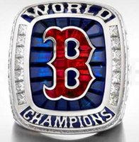 Wholesale 2019 Boston Red SOX Championship ring Fan Men Gift Drop Shipping
