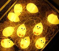 dekorative leds großhandel-3m 20 Leds Chicken LED Lichterkette LED Party dekorative Lichter Nachtbeleuchtung Ostern Festliche Party Dekoration
