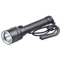 dalış led ışıkları toptan satış-1000 LM T6 LED Parlama Su Geçirmez Doldurma Işık Tüplü Dalış Işık Sualtı Maksimum 100 Metre Profesyonel Dalış