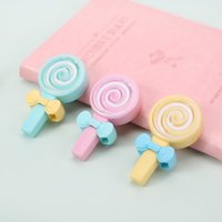 Wholesale lollipop erasers resale online - 2 Kawaii Cute Candy Lollipop Correction Tape Erasers Corrector School Office Supply Student Stationery Kids Gift