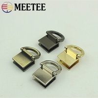 20pcs Square Metal Buckle Bag Strap Connector Bag Accessories for Leather Craft
