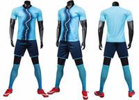 t panoları toptan satış-Spor takım elbise erkek spor kısa kollu Tişört koşu hızlı kuru giysiler giymek eğitim giyim ışık kurulu ekibi özelleştirilmiş LOGO baskı
