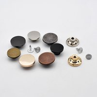 Wholesale clothes studs resale online - Meetee Metal Snap Buttons Zinc Alloy Jeans Button Metal Press Studs Snap Fasteners for Sewing Leather Craft Clothes Decorative AP051