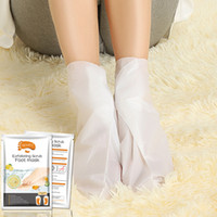 8 Flavor ALIVER Feet Exfoliating Foot Mask Magic Dead Skin Peeling Feet Mask Sock Exfoliating Foot Mask Feet Skin Care RE00003