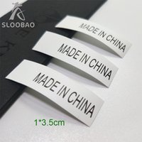 Wholesale clothing labels online - Made in china Production mark Synthetic band Custom design Garment Care Label Private design Clothing Wash Instruction Label