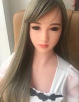 realistische asiatische sexpuppen großhandel-Adult produkt Asian mini sex doll lebensechte silikongeschlechtspuppen realistische oral vagina pussy anal liebespuppe sexspielzeug für mann