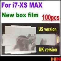 protector de pantalla de fábrica de manzana al por mayor-100 unids Frente Volver Sellado Plástico Protector de Pantalla de Fábrica Protector de Pantalla para iPhone XS MAX XR X 7 8 más caja de embalaje cajas de sello de película de embalaje